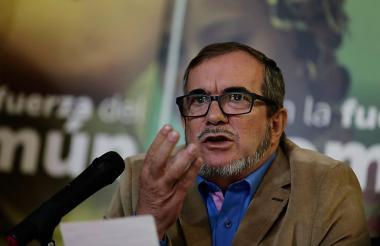 El líder de la Farc Rodrigo Londoño, más conocido como Timochenko.