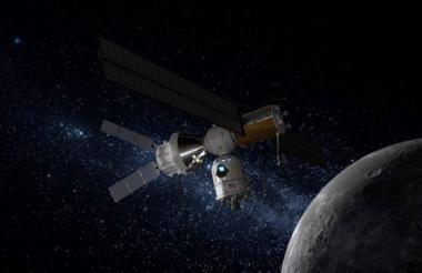 Versión reducida de la estación lunar Gateway.