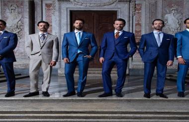 Stefano Ricci lanzó esta semana su última colección en el suntuoso Palacio Real de Caserta