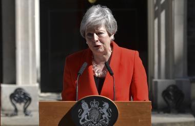 la primera ministra británica, primera ministra británica.