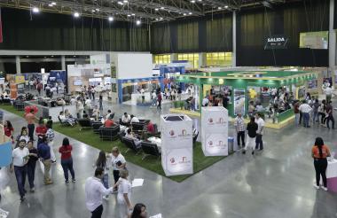 Feria inmobiliaria.