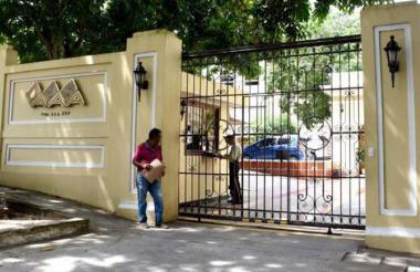 Sede donde funciona la empresa Triple A, en el norte de Barranquilla.