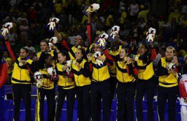 La Selección Colombia femenina de baloncesto se coronó campeona en los Juegos Centroamericanos y del Caribe que organizó Barranquilla en 2018.