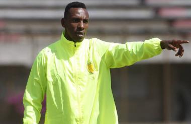 Amaranto Perea, entrenador de fútbol.
