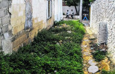 Panorámica del barrio La Risota de Puerto Colombia.