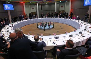 Cumbre informal de jefes de Estado y de Gobierno de la UE en Bruselas