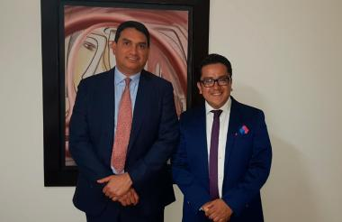 Gerardo Guerra Contreras y Camilo Andrés Naranjo Parada, socios fundadores de Baranda Lawyers Consulting.
