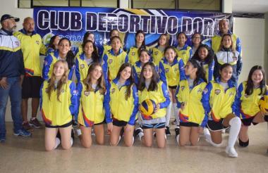 Integrantes del Club Doral.