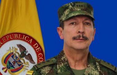 Mayor general Nicacio Martínez, comandante del Ejército