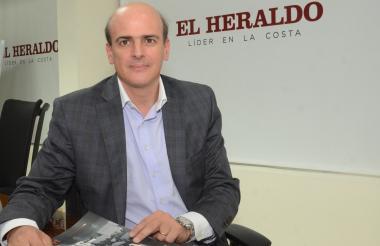 Luis Felipe Jaramillo Lema, vicepresidente de Colfranquicias.