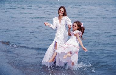 Muchas celebridades en Colombia se han puesto algún vestido de Goretty Medina.