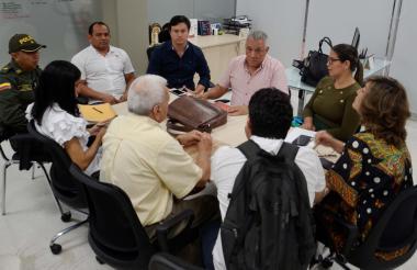 Las autoridades en Sincelejo ultimaron detalles para proceder con el desalojo en Altos de la Sabana.