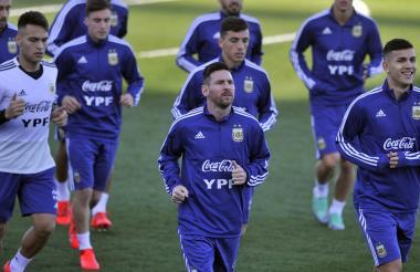 Selección Argentina liderada por Lionel Messi.