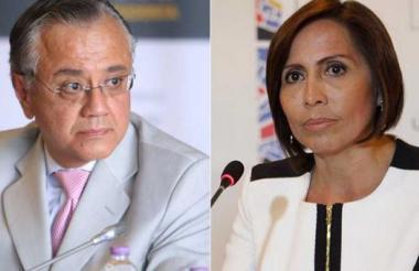 Alexis Mera y María de los Ángeles Duarte.