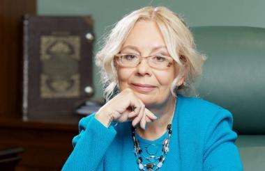 Doctora en Economía, Tatiana Valovaya, de 61 años.