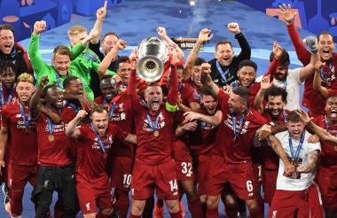 Liverpool, campeón de la UEFA Champions League.