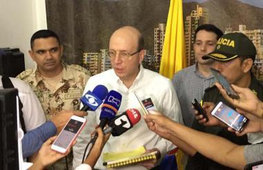 Andrés Rugeles, alcalde encargado de Santa Marta.
