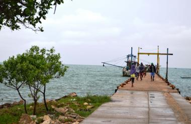 En Tolú, municipio del Golfo de Morrosquillo, la mayoría de habitantes viven de la pesca.