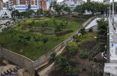 Panorámica del espacio público recuperado.