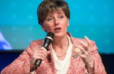 La ministra de Agricultura de Canadá, Marie-Claude Bibeau.