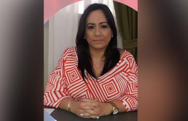 Claudia Aarón Viloria, presidenta de la Asamblea del Magdalena.