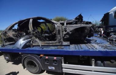 Carro del fallecido de José Antonio Reyes.