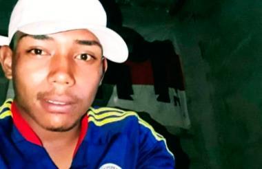 Yone José Escolar Sarmiento, de 19 años.