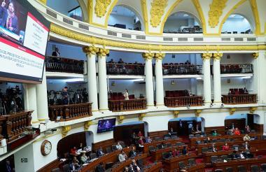 Parlamento peruano.