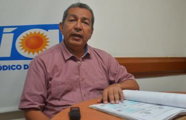 David Fajardo, abogado.