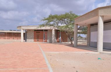 Sede educativa de Orroko en La Guajira