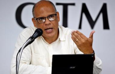 Jesús Guerra, del comité organizador de la reunión.