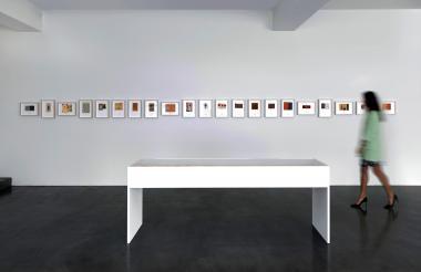 Fotografía facilitada por la galería Ordovas de la exposición de José Antonio Suárez Londoño.