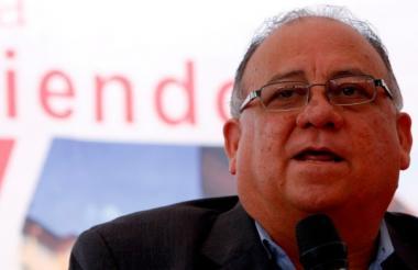 Mario Isea, embajador de Venezuela en Madrid.