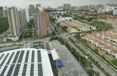 Sector de la 51B en el norte de Barranquilla y construcciónes de vivienda no Vis.