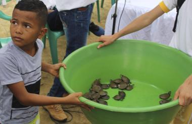 Transformación de conciencia ambiental a los niños del municipio.