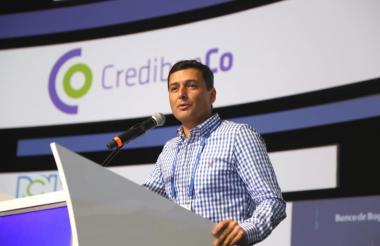 El superintendente financiero, Jorge Castaño.