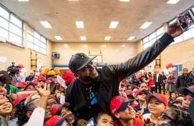 El pelotero dominicano David Ortiz, más conocido como el 'Big Papi'.