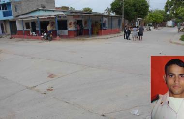 En esta esquina del barrio La Manga fue asesinado el venezolano Kendry Flórez Núñez.