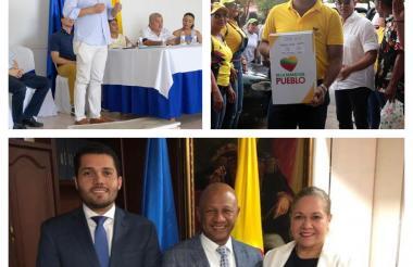 Candidatos en La Guajira.