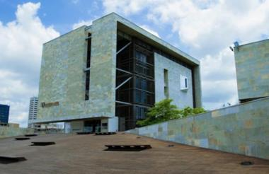 Fachada del Parque Cultural del Caribe.