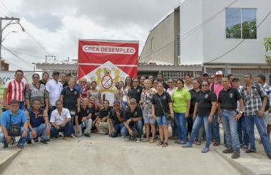 Funcionarios de Coltabaco y Sintraintabaco.