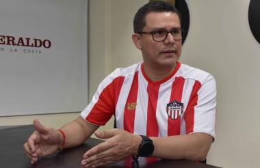 Armando de la Hoz, secretario de Salud del Atlántico.