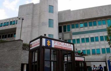 La fachada de la Fiscalía General de Colombia.