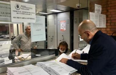 Roy Barreras radicó la acción de tutela el 1 de junio.