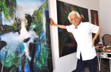 En agosto de 2018 José Luis Quessep abrió una vez más las puertas de su casa para hablar con EL HERALDO.