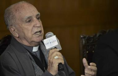 Monseñor Eugenio Arellano, presidente de la Conferencia Episcopal ecuatoriana.
