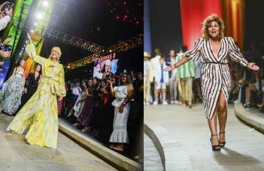 El cierre de la noche fue por cuenta de Silvia Tcherassi. Lina Cantillo agradeció a los asistentes su presencia.