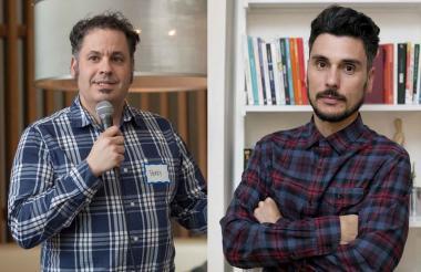 Perry Monaco, conferencista en el WebCongress. Eduardo Carvalho, experto en ventas por RR.SS.