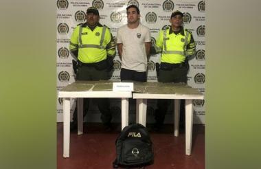Neill Sebastián Boíles Romero, capturado.