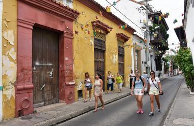Centro de Cartagena. Imagen de referencia.